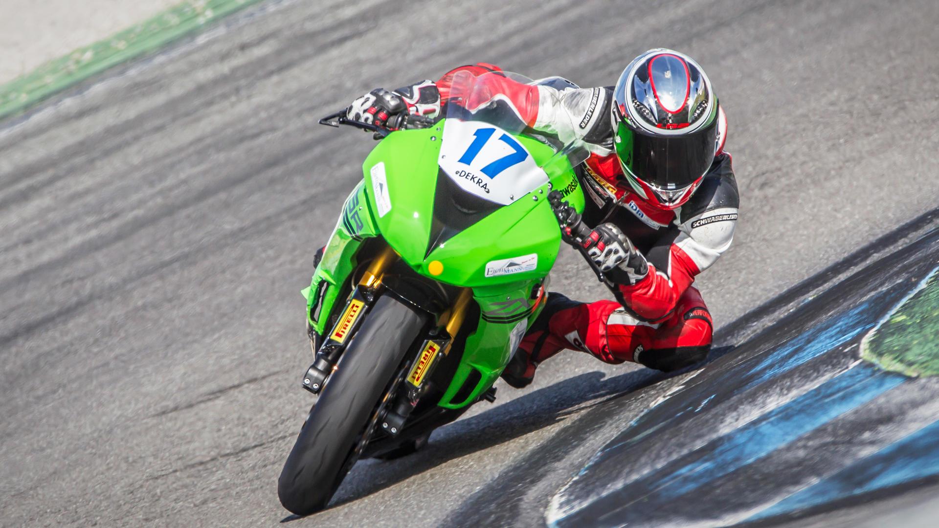Die IDM Supersport 600 auf dem Hockenheimring