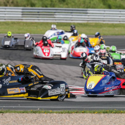 Oschersleben 2018 - IDM Sidecars Rennen 2