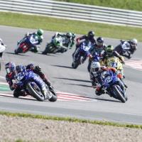 1. Rennen der IDM Supersport und Superstock 600 Klassen in Oschersleben