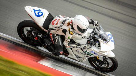 IDM Supersport 300 in Hockenheim 2017