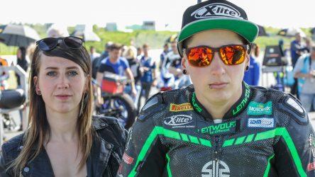 IDM Superbike 1000: Kann Lucy Glöckner nach EWC-Sturz fahren?