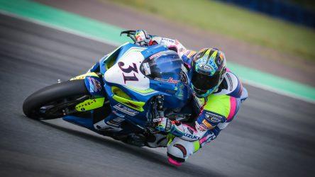 IDM Superbike 1000: Sarah Heide mit Spezialbremse unterwegs