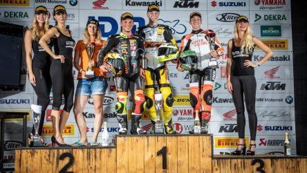 IDM Supersport 300: WM-Fahrer Jähnig zeigt allen, wo der Hammer hängt