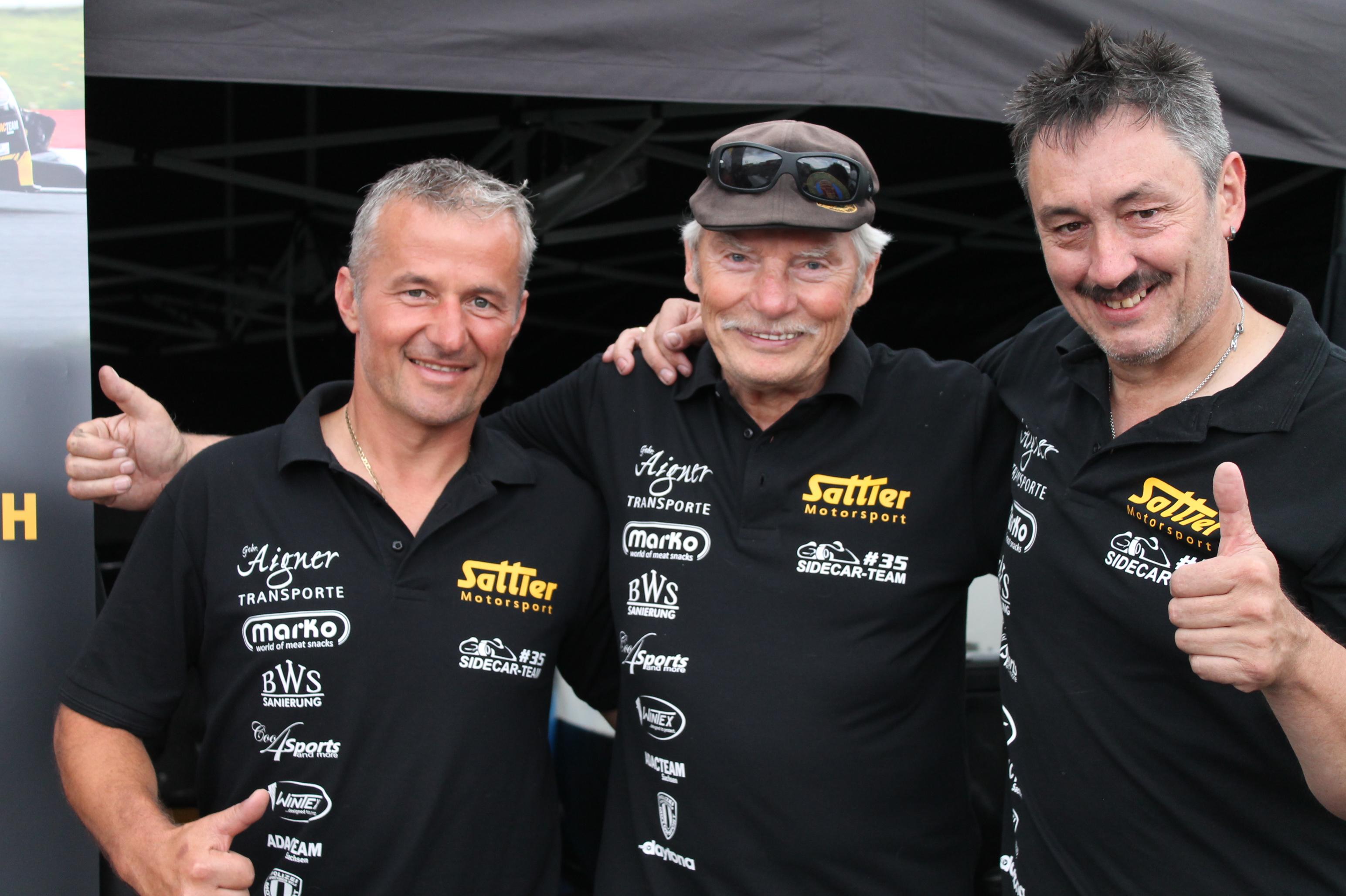 IDM Sidecar: Happy birthday und alles Gute für Champion Rolf Steinhausen