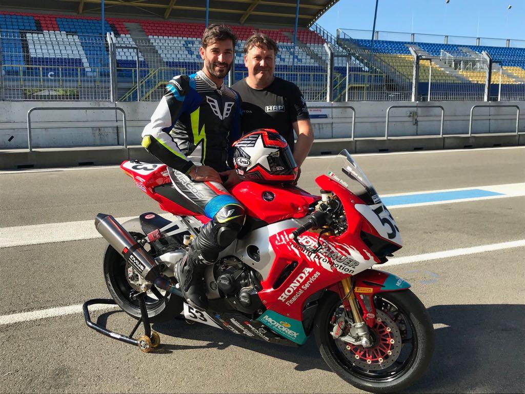 IDM Superbike 1000: Jan Halbich bei HRP Honda raus, Alessandro Polita kommt