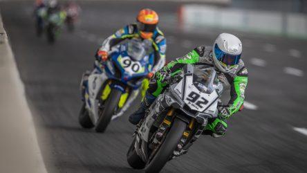 IDM Superbike 1000: Nach den Flitterwochen kamen für Kartheininger die Probleme mit dem Blipper