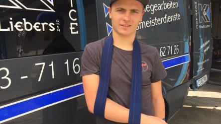 IDM Supersport 600: Schlüsselbeinbruch hebelt Titelfavorit Max Enderlein in Assen aus