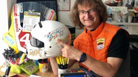 IDM Supersport 300: Gutes tun und den Helm von Max Kappler ersteigern
