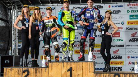 IDM Supersport 600: Volle Punkte für Daniel Rubin, Sieger Rob Hartog disqualifiziert
