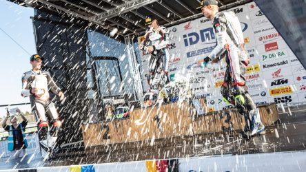 IDM Superbike 1000: Dreifacher BMW-Triumph zum Abschluss und Party im Motodrom