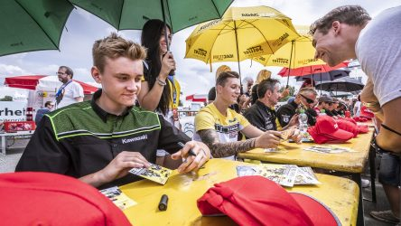 IDM Supersport 300: Kawasaki schiebt erstes offizielles Nachwuchs-Trio an den Start