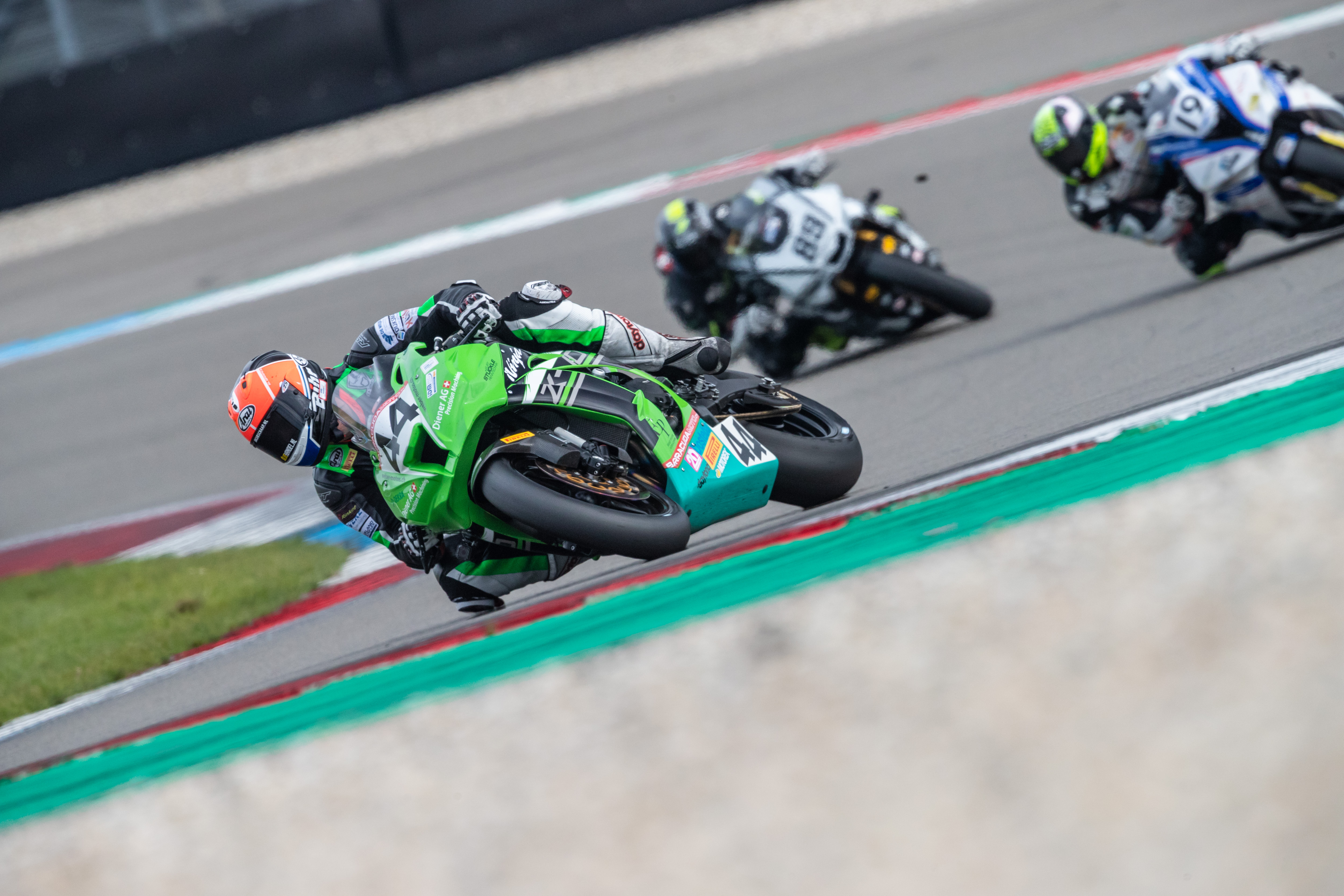 IDM Superbike 1000: Danny de Boer bleibt zu Hause, aber Kawasaki hat einen Plan B