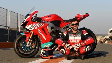 IDM Superbike 1000: Eine Schubkarre voller Neuteile für die HRP-Honda und Alex Polita