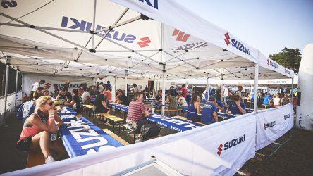 IDM: Suzuki-Tickets mit Catering für fast alle Veranstaltungen erhältlich
