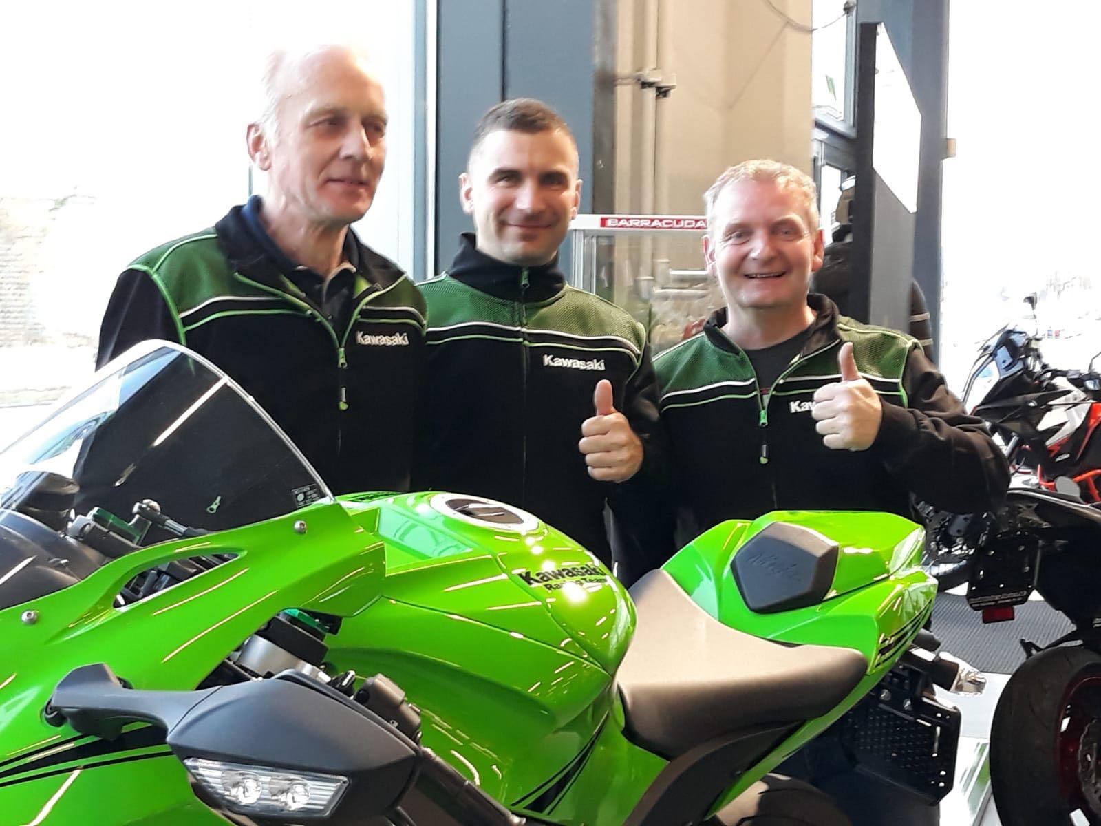 IDM Superbike 1000: Erwan Nigon kehrt auf Kawasaki in die Prestige-Klasse zurück