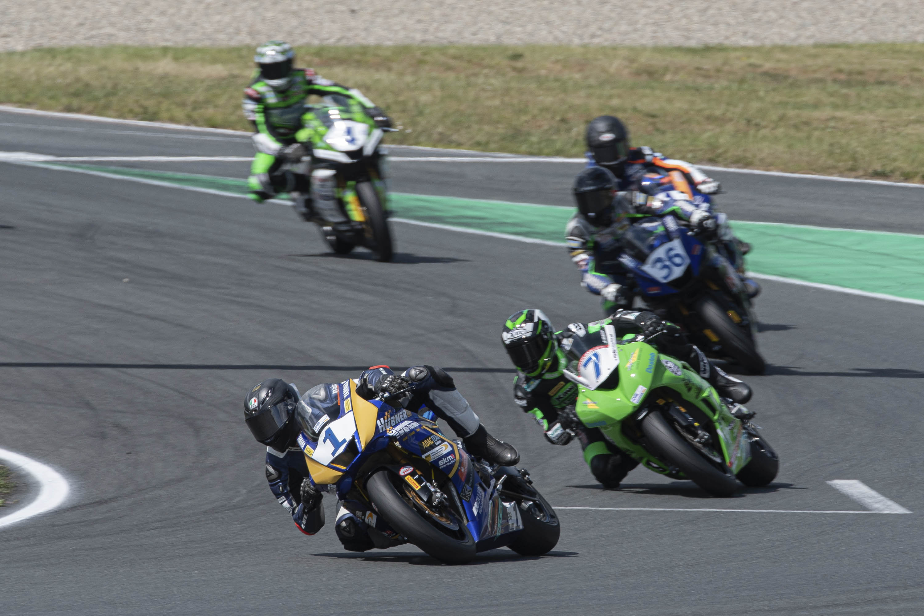 IDM Supersport 600: Enderlein hat sich in Position gebracht
