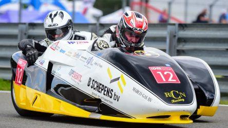 IDM Sidecar: Smits bringt sein 1000 ccm-Gespann auf die Pole