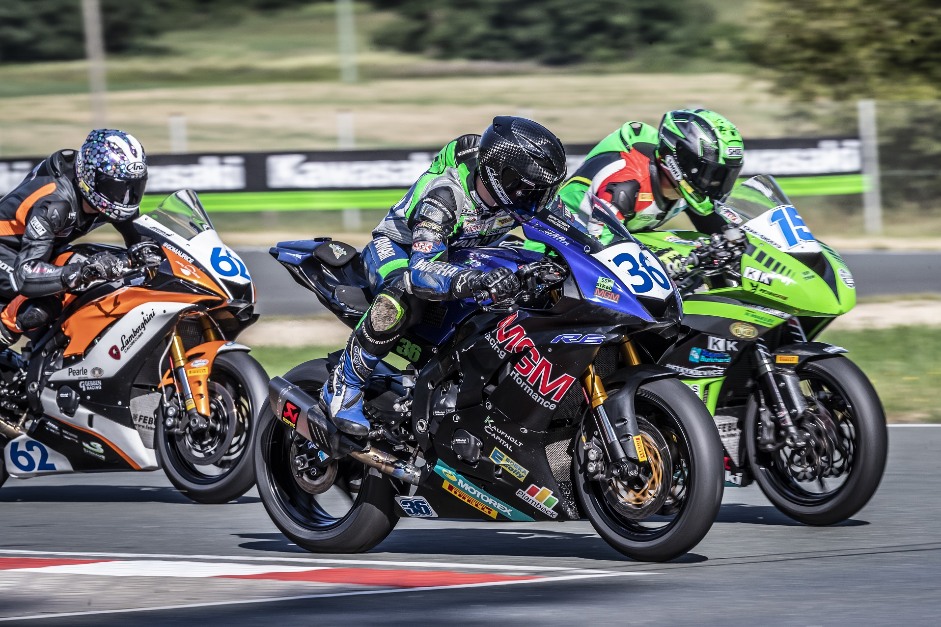 IDM Supersport 600: Enderlein und Jenkner demonstrieren Sachsen-Power