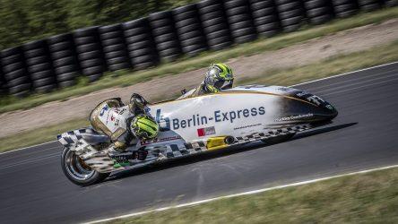 IDM Sidecar: Reeves Schnellster im Qualifying, Abbruch nach zwei Runden