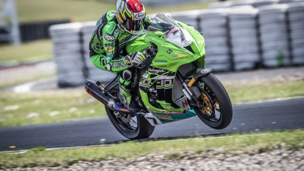 IDM Superbike 1000: Grün ist die Farbe der Hoffnung und Nigon steht auf der Pole