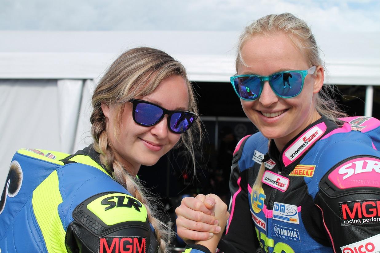 IDM Supersport 300: Julia Hämmer und Nina Schubrikoff haben Blut geleckt