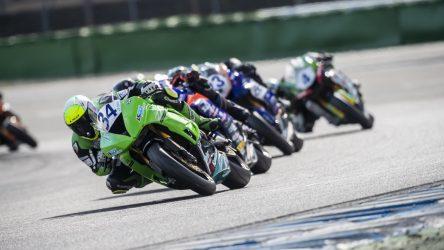 IDM Supersport 600: Grünwald feiert beim Finale den zweiten Saisonsieg