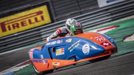 IDM Sidecar: Hirschi Erster im Qualifying, reicht das?