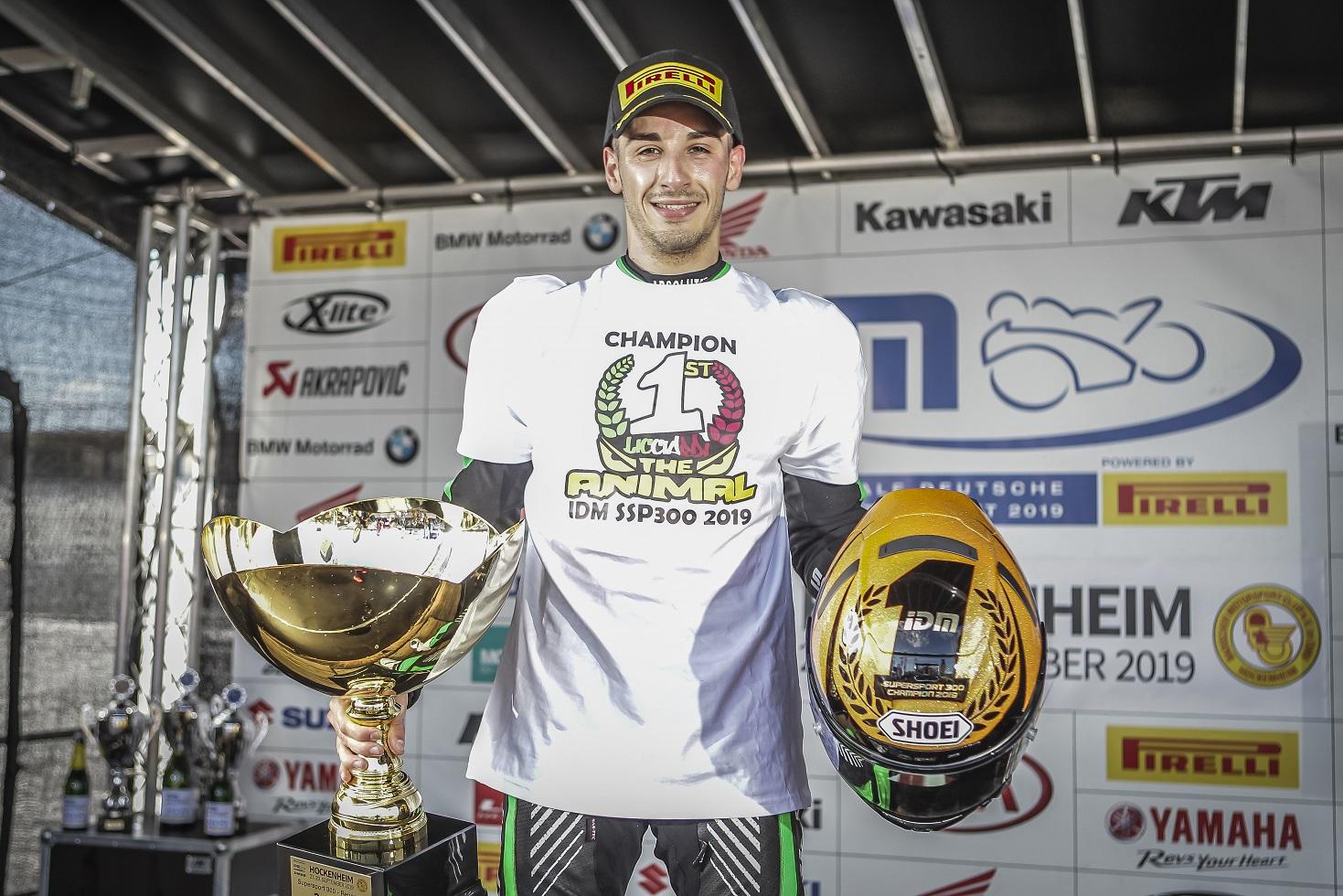 """IDM Supersport 300: """"Im Rennen drehe ich so richtig auf"""" (Angelo Licciardi)"""
