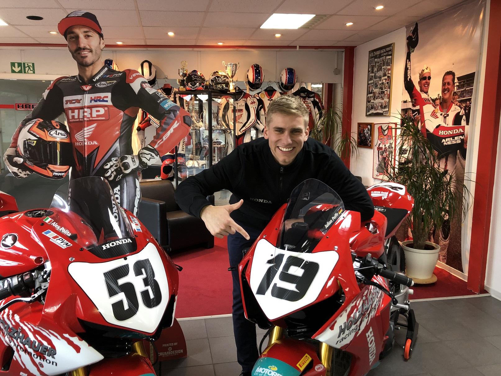 IDM Superbike 1000: Riesen-Chance für Julian Puffe auf der Holzhauer-Honda
