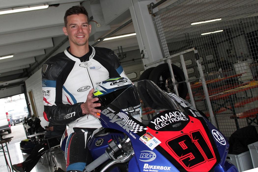 IDM Superbike 1000: Bastien Mackels auf Schnupperkurs in allen Bereichen