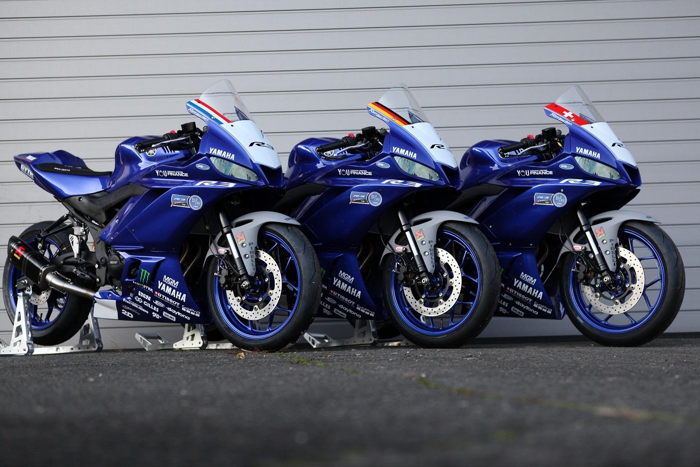 Yamaha verschiebt den Start des R3 bLU cRU Cup DE | CH | NL auf 2021