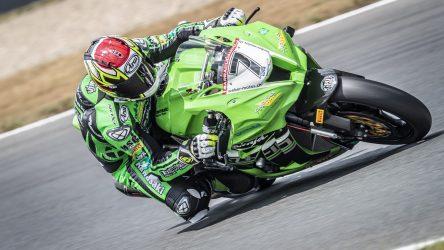IDM Superbike 1000: Mit WM-Input für die IDM-Kawasaki will Erwan Nigon unter die Top 5
