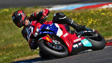 IDM Superbike 1000: Top-Speed der neuen Honda haut Polita und Puffe vor Freude fast um