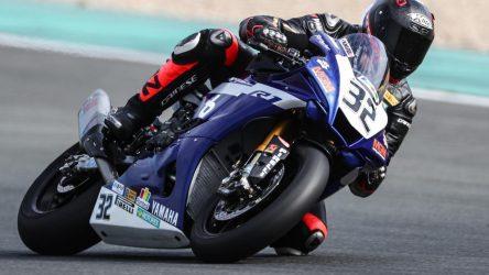 IDM Superbike 1000: Marc Mosers erste Lederkombi war von Marvin Fritz, nun Top 5?