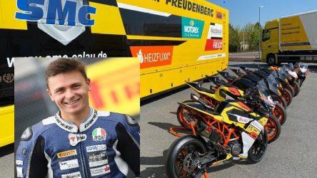 IDM Supersport 600: Max Enderlein ist Titelverteidiger, Riding Coach und Heimschläfer