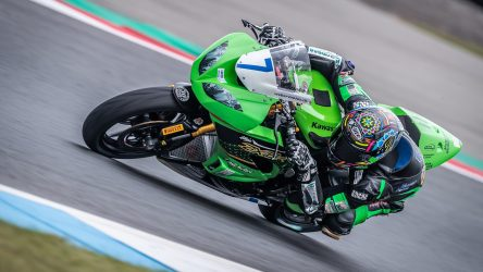IDM Supersport 600: Steeman auf Pole, Grünwald in der Bredouille