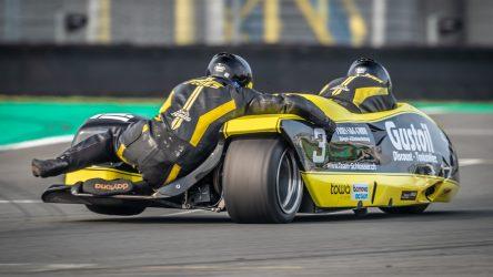IDM Sidecar: Schlosser und Roscher holen die maximale Punktzahl
