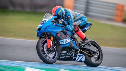 IDM Supersport 600: Rookie Victor Steeman fährt sofort Bestzeit