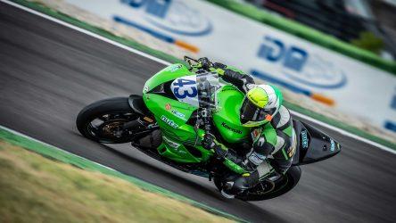 IDM Supersport/Superstock 600: Luca Grünwald ist Meister