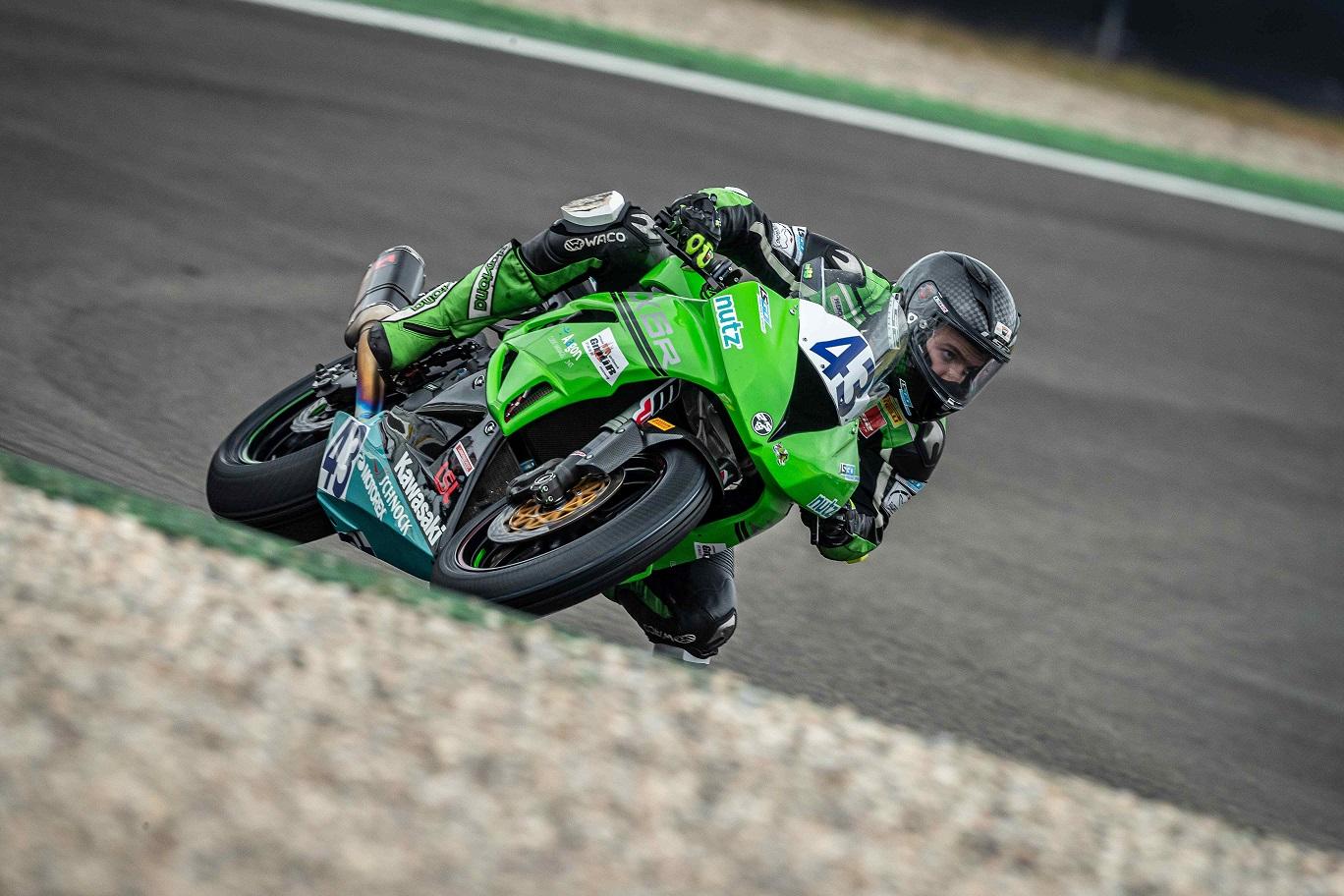 IDM Supersport/Superstock 600: Luca Grünwald baut seine Führung aus