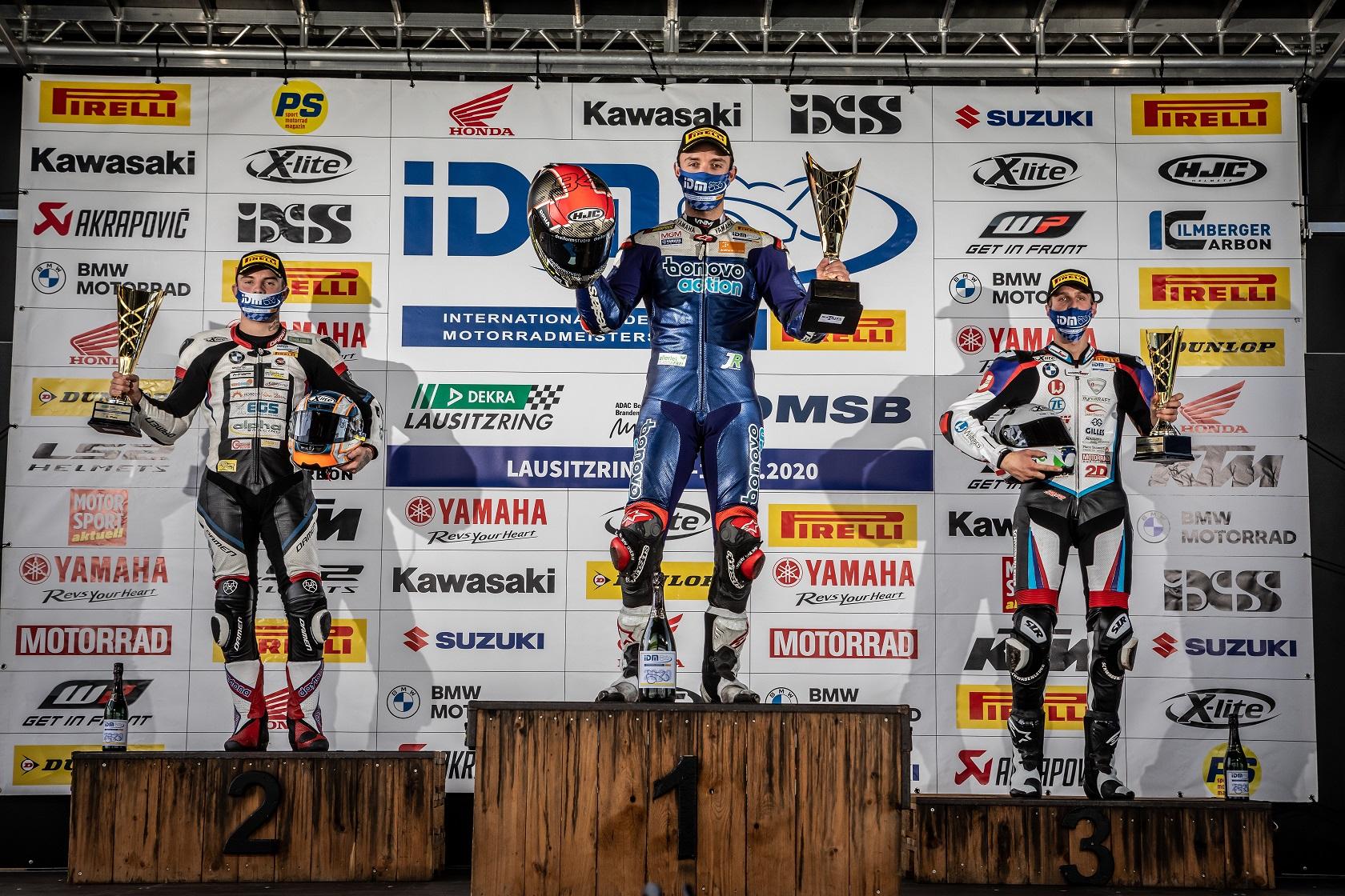 IDM Superbike 1000: Fünftes Rennen, fünfter Sieg für Folger
