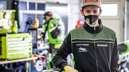 IDM Supersport 300: Den müssen wir uns merken – Harry Khouri