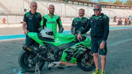 IDM Superbike 1000: Valentin Debise übernimmt die Kawasaki von Erwan Nigon