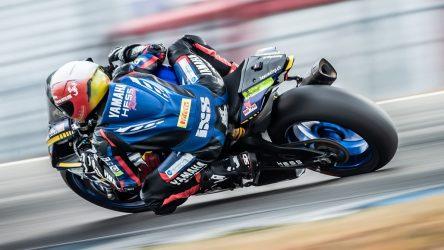IDM Superbike 1000: Pole für Yamaha und den Schweizer Dominic Schmitter