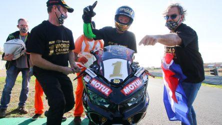 IDM Supersport 300: Der neue Weltmeister Jeffrey Buis hat in der IDM gelernt