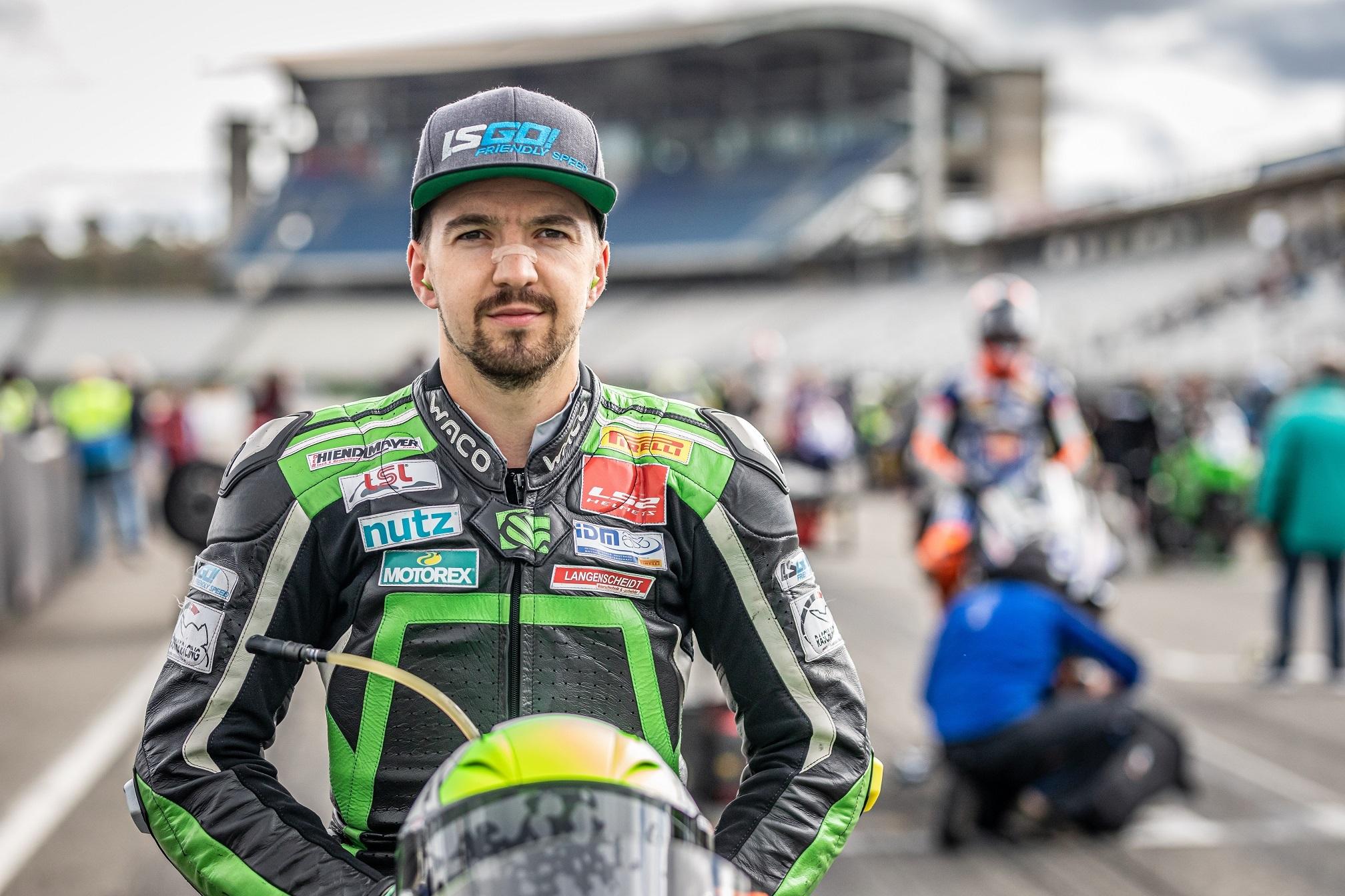 IDM Supersport 600: Meister Grünwald fährt Superbike von HPC-Power Suzuki