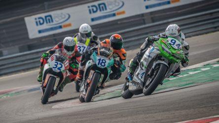 IDM Supersport 300: Siebdrath und de Vleeschauwer wieder fix bei Kawasaki