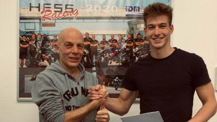 IDM Supersport 600: Rookie Marcel Brenner fährt zweigleisig