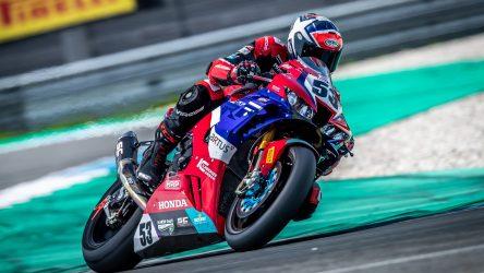 IDM SBK 1000: Honda-Star Alex Polita kriegt eine Granate unter den Hintern