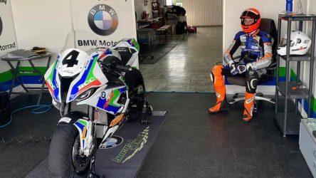 IDM SBK 1000: Ricardo Brink im BMW-Freudentaumel